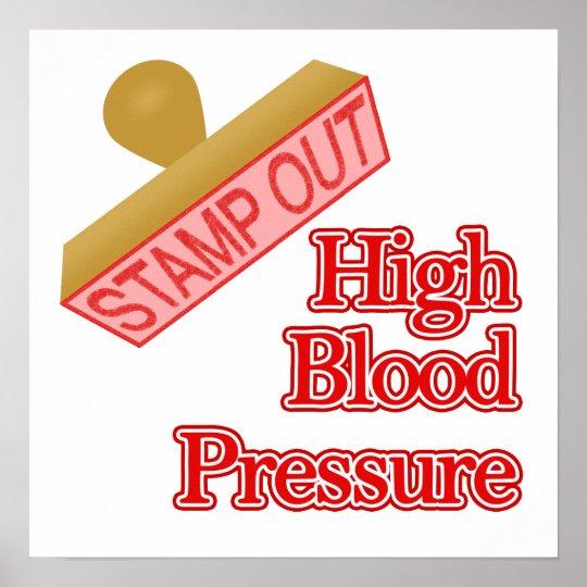 High Blood Pressure Poster