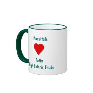 High Calorie Foods - Ringer Coffee Mug