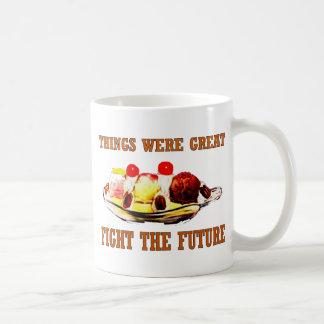 High Calorie Time Travel Classic White Coffee Mug