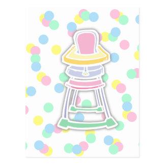 High Chair Postcard