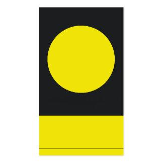 high class business card yellowpage