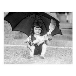 High-Class Vaudeville: 1923 Postcard