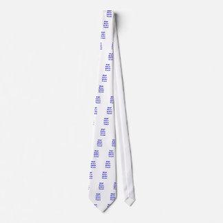 High Class White Trash Neck Tie