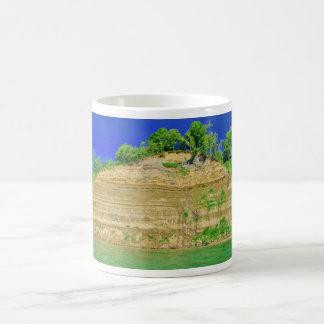 High Cliffs by the Lake Coffee Mug