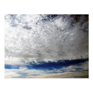 High Clouds Postcard