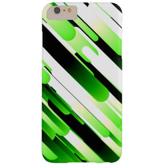 High contrast green barely there iPhone 6 plus case