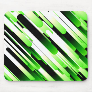High contrast green mouse pad