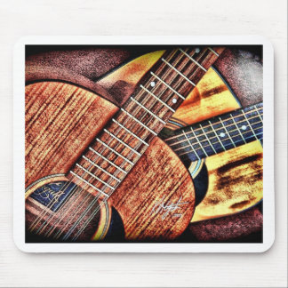 High Contrast Guitars Mouse Pad