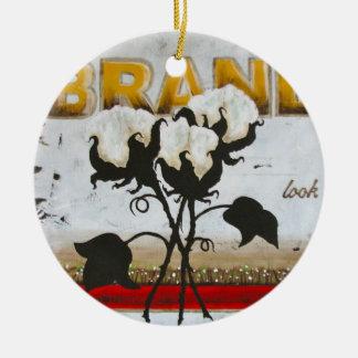 High Cotton Brand Ornament
