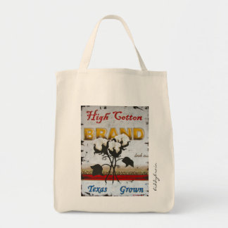 High Cotton Grocery Tote Grocery Tote Bag