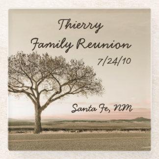 High Country Family Reunion Glass Coaster
