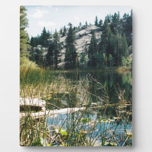 High Country Lake Plaques