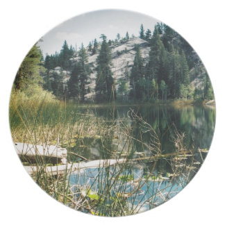 High Country Lake Party Plate