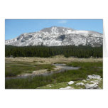 High Country Mountain Stream I Yosemite Park Card