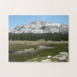 High Country Mountain Stream I Yosemite Park Jigsaw Puzzle