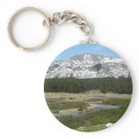 High Country Mountain Stream I Yosemite Park Keychain