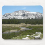 High Country Mountain Stream I Yosemite Park Mouse Pad