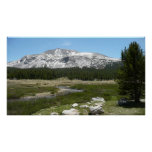 High Country Mountain Stream I Yosemite Park Poster