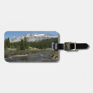 High Country Mountain Stream II Yosemite Park Travel Bag Tag