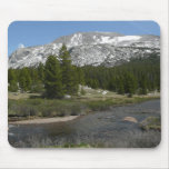 High Country Mountain Stream II Yosemite Park Mouse Pad