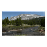 High Country Mountain Stream II Yosemite Park Poster