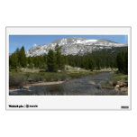 High Country Mountain Stream II Yosemite Park Wall Sticker