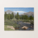 High Country Mountain Stream III Yosemite Park Jigsaw Puzzle