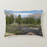 High Country Mountain Stream III Yosemite Park Accent Pillow
