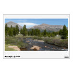 High Country Mountain Stream III Yosemite Park Wall Decal