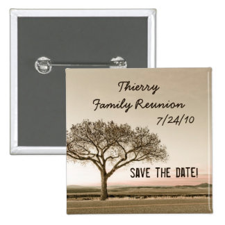 High Country Save the Date Custom Family Reunion 2 Inch Square Button