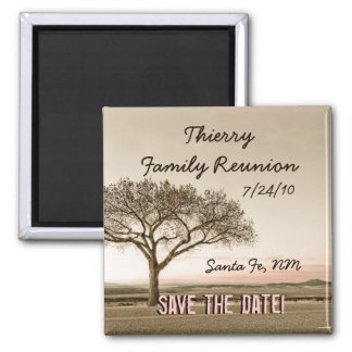 High Country Save the Date Custom Magnet