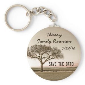 High Country Save the Date Key Chains