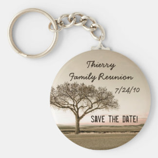 High Country Save the Date Basic Round Button Keychain
