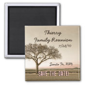 High Country Save the Date magnet