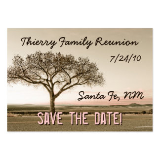 High Country Save the Date Mini Cards Large Business Card