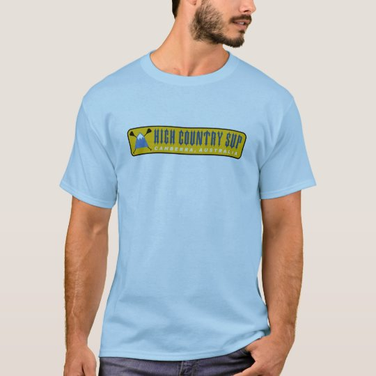 High Country SUP Sup-a-holic (Lt Blue) T-Shirt
