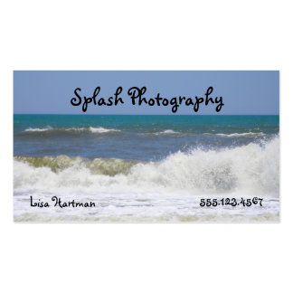High-DEF Ocean Double-Sided Standard Business Cards (Pack Of 100)