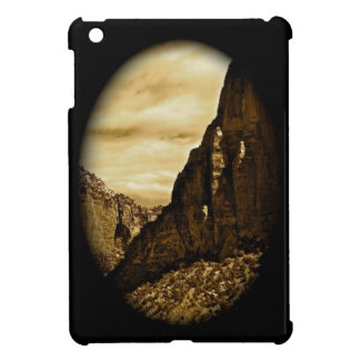 HIGH DESERT LANDSCAPE IN A VIGNETTE COVER FOR THE iPad MINI