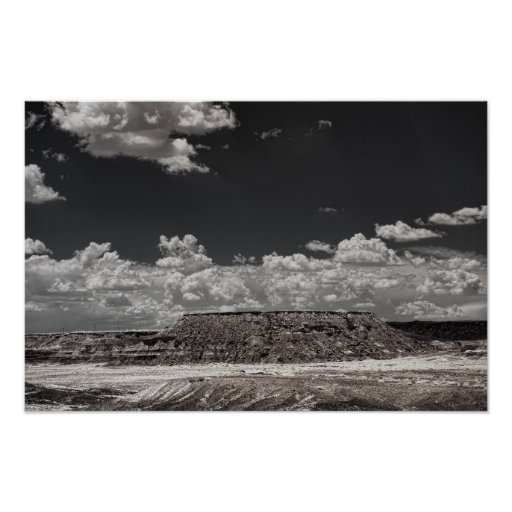 High Desert Storm Poster
