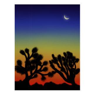 """High Desert Sunset"" postcard"