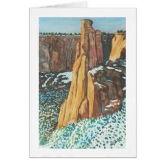 High Desert Winter Card