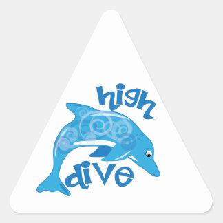 High Dive Triangle Sticker