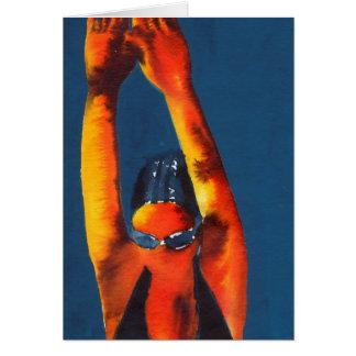 High Diver 2011 Card