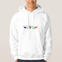 High Divers High Diving Springboard Platform sport Hoodie