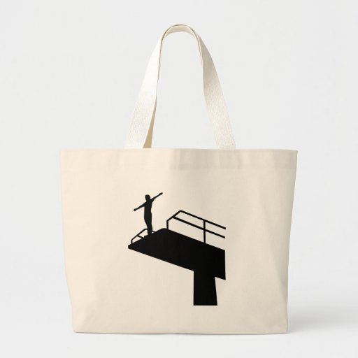 High diving canvas bags