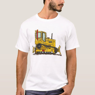 High Drive Bulldozer Dirt Mover Construction Appar T-Shirt
