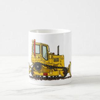 High Drive Bulldozer Dirt Mover Construction Mugs