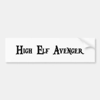 High Elf Avenger Bumper Sticker
