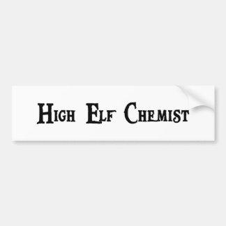 High Elf Chemist Bumper Sticker