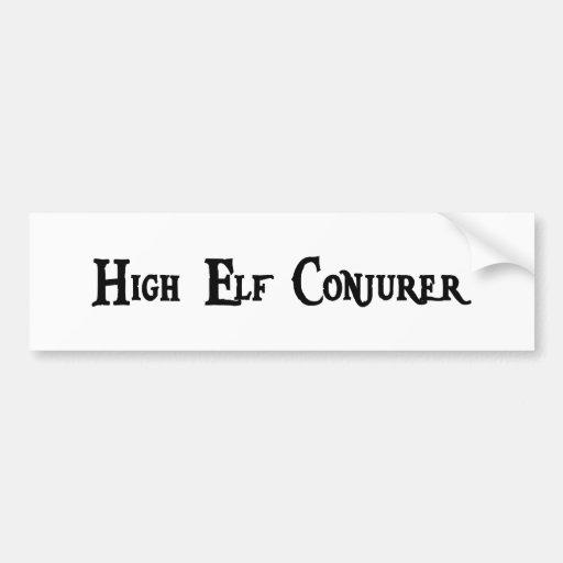 High Elf Conjurer Bumper Sticker